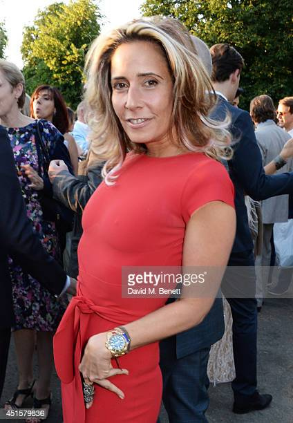 Tara Bernerd attends The Serpentine Gallery Summer Party cohosted by Brioni at The Serpentine Gallery on July 1 2014 in London England