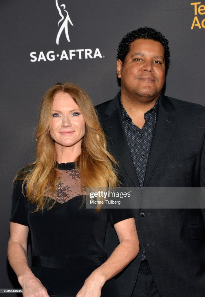 Tara Buck and Chris Pierce attend the Television Academy and SAG-AFTRA's 5th annual Dynamic and Diverse Celebration at Saban Media Center on September 12, 2017 in North Hollywood, California.