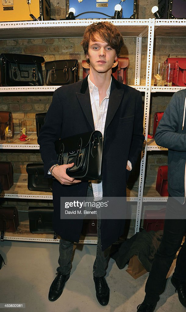 Tara Ferry attends The Cambridge Satchel Company launch of their East London pop up store on December 5, 2013 in London, England.