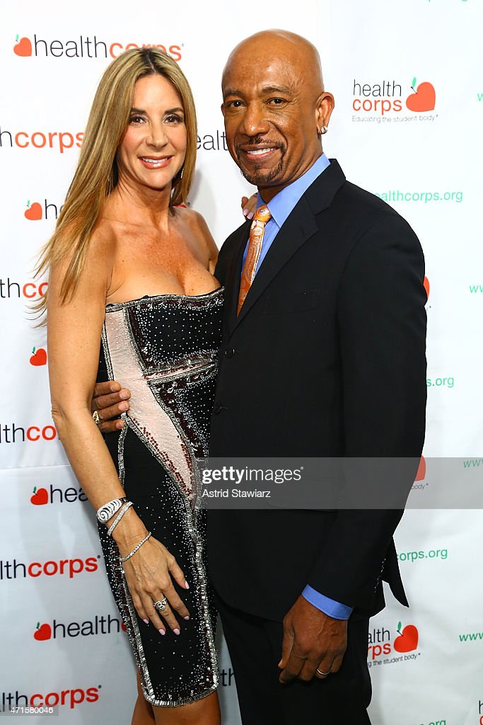 Tara Fowler and Montel Williams attend HealthCorp's 9th Annual Gala at Cipriani Wall Street on April 29, 2015 in New York City.