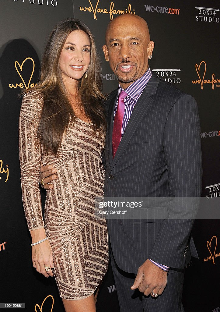 Tara Fowler (L) and TV personality Montel Williams attend 2013 We Are Family Foundation Gala at Hammerstein Ballroom on January 31, 2013 in New York City.