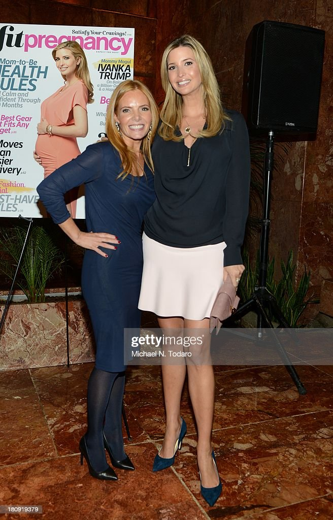 Tara Kraft and <a gi-track='captionPersonalityLinkClicked' href=/galleries/search?phrase=Ivanka+Trump&family=editorial&specificpeople=159375 ng-click='$event.stopPropagation()'>Ivanka Trump</a> attend the Fit Pregnancy <a gi-track='captionPersonalityLinkClicked' href=/galleries/search?phrase=Ivanka+Trump&family=editorial&specificpeople=159375 ng-click='$event.stopPropagation()'>Ivanka Trump</a> Cover Party at Trump Tower Atrium on September 17, 2013 in New York City.