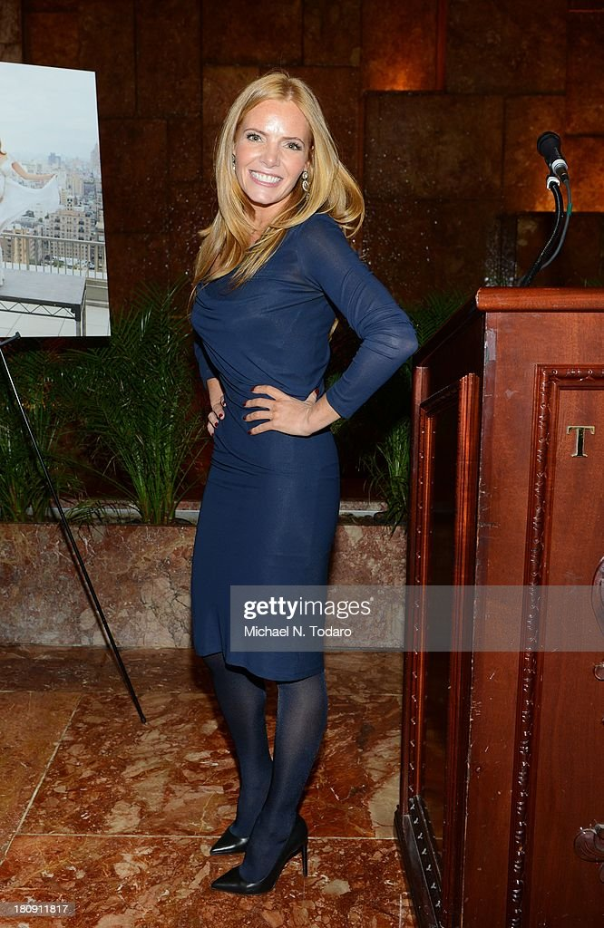 Tara Kraft attends the Fit Pregnancy Ivanka Trump Cover Party at Trump Tower Atrium on September 17, 2013 in New York City.
