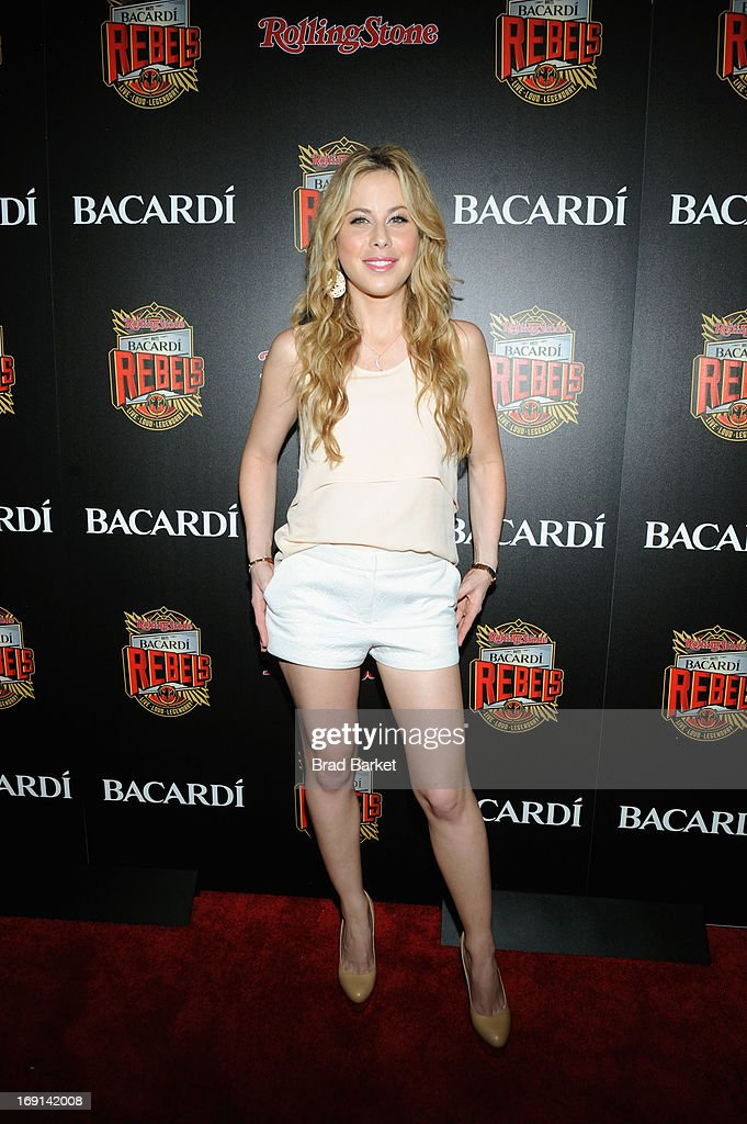 Tara Lapinski attends Rolling Stone hosts Bacardi Rebels at Roseland Ballroom on May 20, 2013 in New York City.