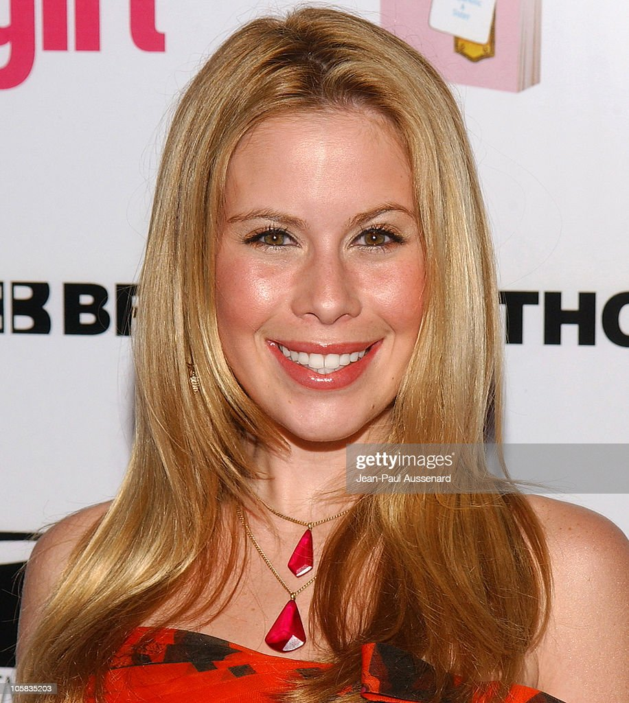 Tara Lipinski during ELLEGIRL's 1st Annual Hollywood Prom - Arrivals at Hollywood Athletic Club in Hollywood, California, United States.
