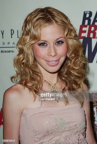 Tara Lipinski during The 10th Annual Race to Erase MS at The Century Plaza Hotel Spa in Century City California United States