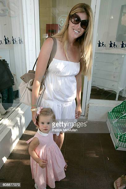 Tara Lipton and Landon Lipton attend HATCHLINGS Spring 2008 'HATCH' Boys Collection hosted by ANNETTE LAUER CRISTINA CUOMO and ANA MARIA PEREZ at...