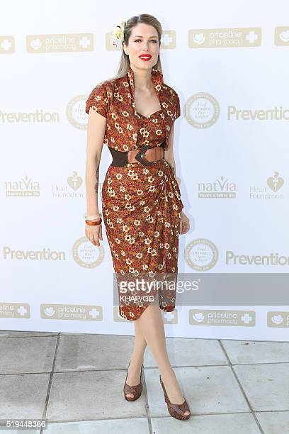 Tara Moss attends National Prevention Week Breakfast held at Catalina Restaurant on April 05 2016 in Sydney Australia
