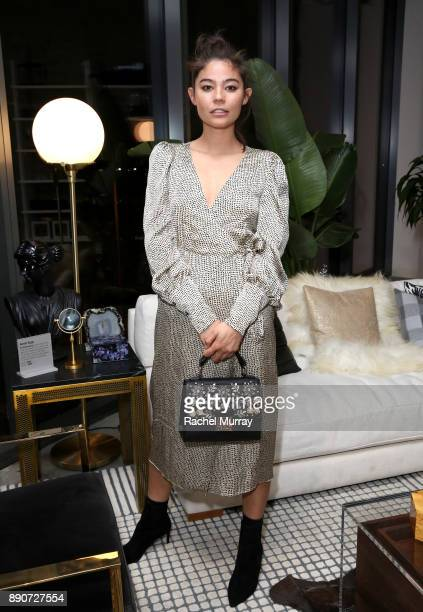 Tara Nichols at the Domino Outpost CB2 Influencer Dinner at Fred Segal on December 11 2017 in Los Angeles California