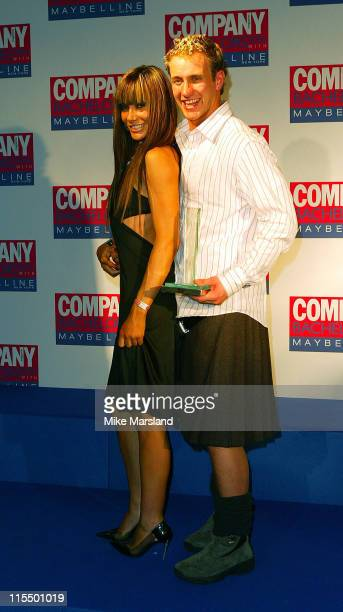 Tara Palmer Tomkinson and Gordon Hood during Company Magazine Presents The Bachelor Of The Year Awards 2004 at Heaven Villiers Street London in...