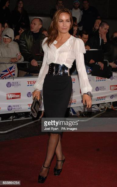 Tara Palmer Tomkinson arrives for the Pride of Britain Awards 2007 The London Studios Upper Ground London SE1