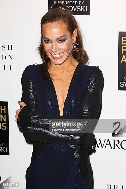 Tara Palmer Tomkinson attends the British Fashion Awards 2008 held at The Lawrence Hall on November 25 2008 in London England