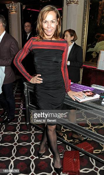 Tara Palmer Tomkinson attends the launch of Joan Collins new book 'Passion For Life' at No41 Mayfair Club at The Westbury Hotel on October 21 2013 in...
