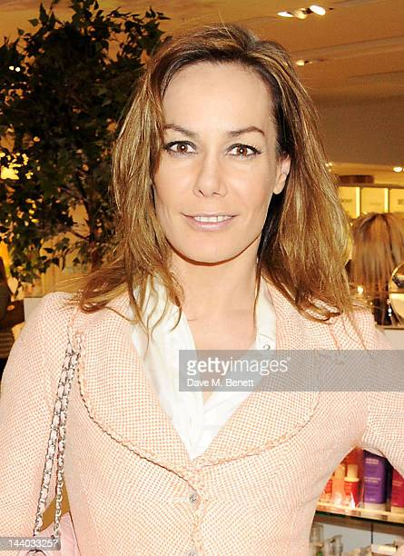 Tara Palmer Tomkinson attends the launch of the new John Lewis Beauty Hall Oxford Street on May 8 2012 in London England