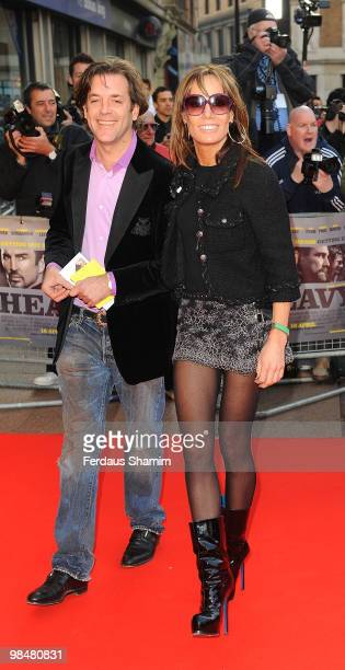 Tara Palmer Tomkinson attends the Premiere of 'The Heavy' at Odeon West End on April 15 2010 in London England