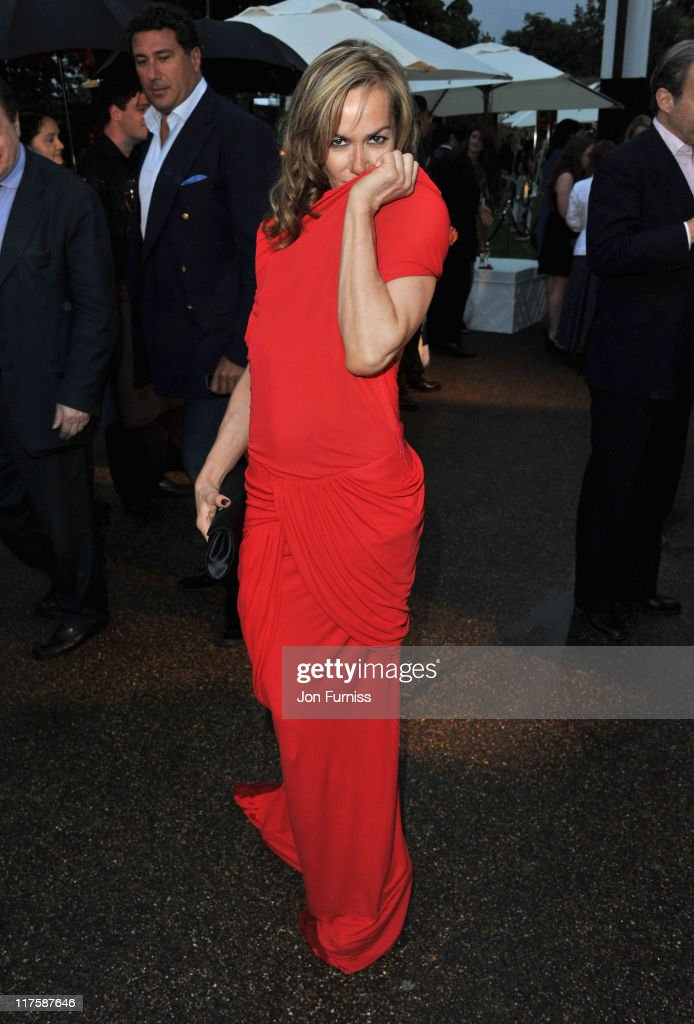 Tara Palmer Tomkinson attends The Serpentine Gallery Summer Party on June 28, 2011 in London, England.