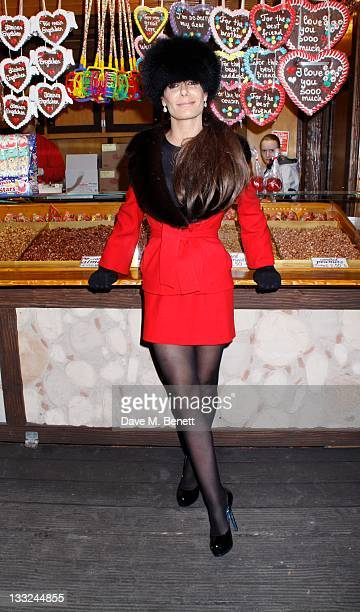 Tara Palmer Tomkinson attends the Winter Wonderland Launch Party at Hyde Park on November 172011 in LondonEngland