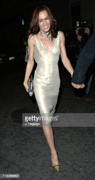 Tara Palmer Tomkinson during Ant McPartlin and Dec Donnelly 30th Birthday Party at No 5 Cavendish in London Great Britain