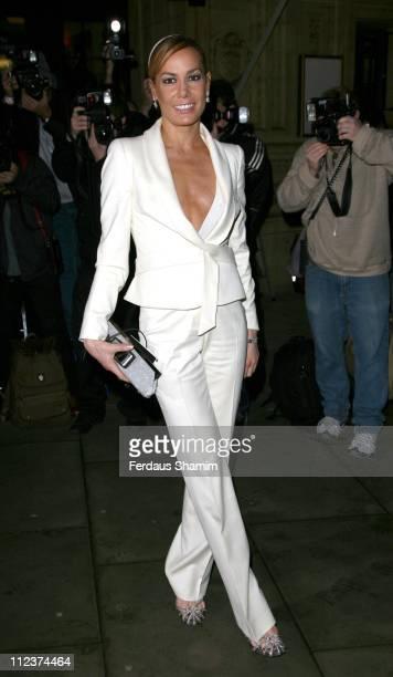 Tara Palmer Tomkinson during Cirque du Soleil's 'Alegria' VIP Press Night Arrivals at Royal Albert Hall in London Great Britain