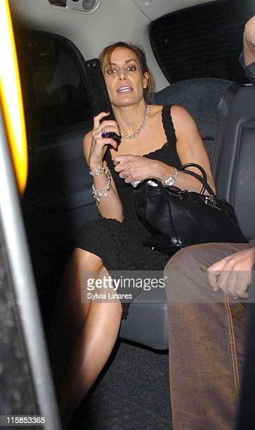 Tara Palmer Tomkinson during Comic Relief does Fame Academy Wrap Party March 28 2007 at Mayfair Hotel in London Great Britain
