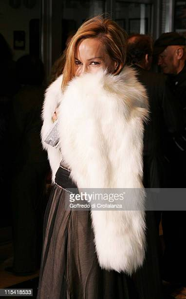 Tara Palmer Tomkinson during 'The Aryan Couple' London Premiere at Odeon West End in London Great Britain