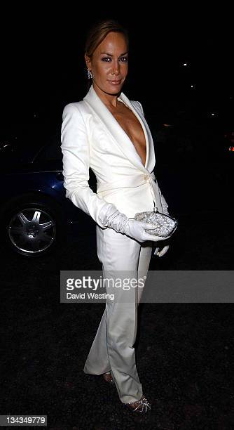 Tara Palmer Tomkinson during The Ice Charity Ball December 11 2006 at The Hilton Park Lane in London Great Britain