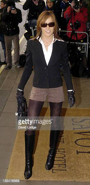 Tara Palmer Tomkinson during The South Bank Show Awards 2006 Arrivals at The Savoy in London Great Britain