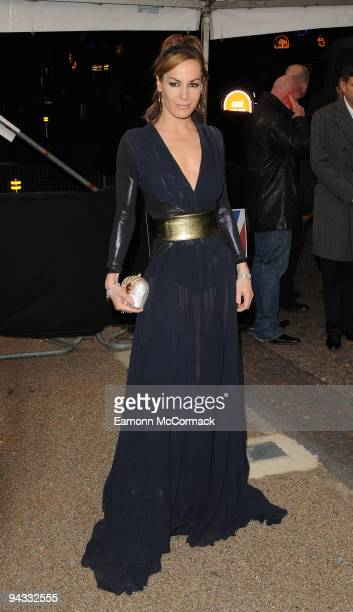 Tara Palmer Tompkinson attends the British Comedy Awards on December 12 2009 in London England