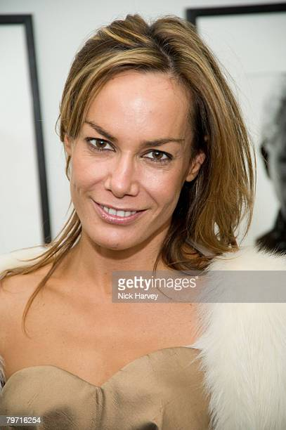 Tara Palmer Tompkinson attends the exhibition of Vanity Fair Portraits preview party hosted by Graydon Carter and Christopher Bailey at the National...