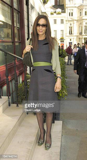 Tara Palmer Tompkinson during 2005 InStyle Shopping Awards Winners Lunch at Morton's Berkeley Square in London Great Britain