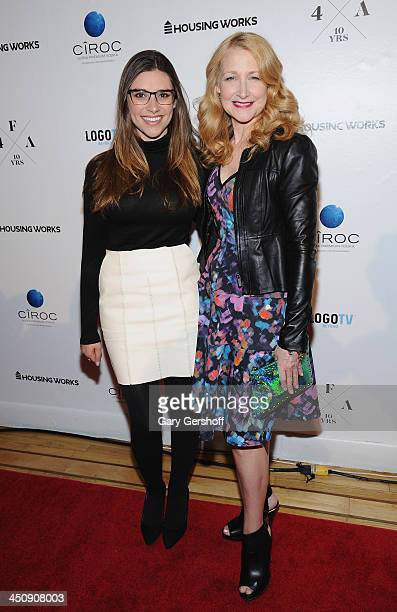Tara Palmeri and Patricia Clarkson attend the Housing Works 10th Annual Fashion For Auction Benefit on November 20 2013 in New York City
