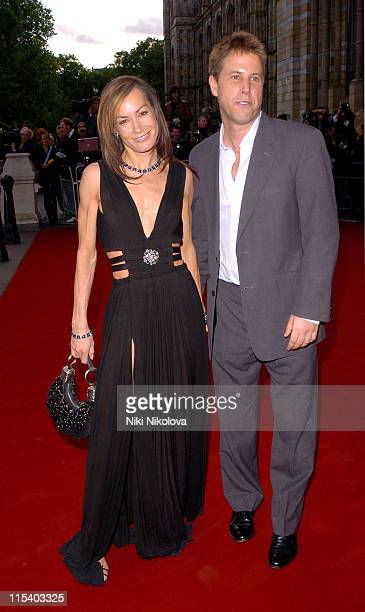 Tara PalmerTomkinson and Guest during Diamonds Private View and Launch Party at Natural History Museum in London Great Britain