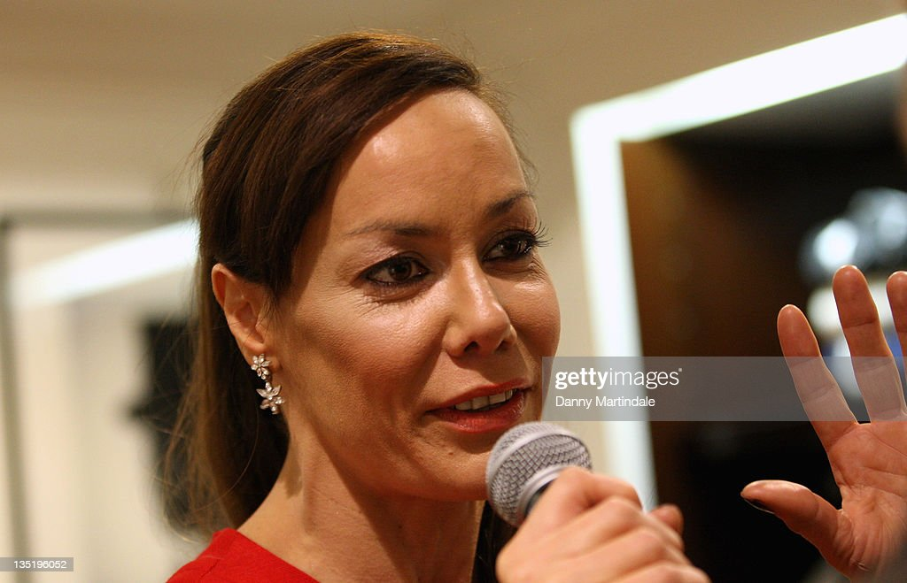 <a gi-track='captionPersonalityLinkClicked' href=/galleries/search?phrase=Tara+Palmer-Tomkinson&family=editorial&specificpeople=160882 ng-click='$event.stopPropagation()'>Tara Palmer-Tomkinson</a> appears in store to launch the Klosters Snow Polo tournament at Hackett London on December 7, 2011 in London, England.
