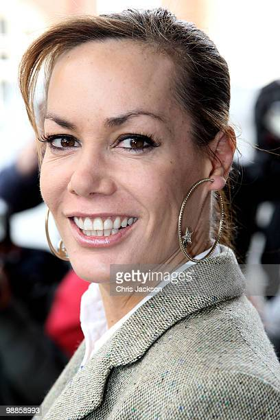 Tara PalmerTomkinson arrives at the SHE Inspiring Women Awards at Claridges on May 5 2010 in London England