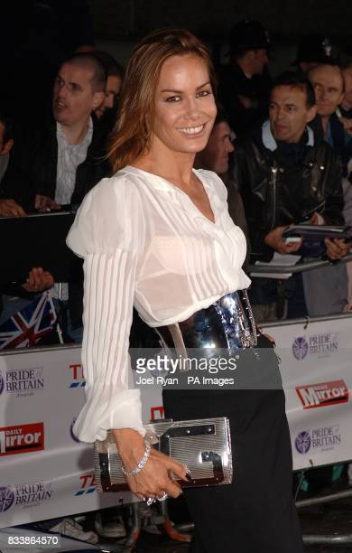 Tara PalmerTomkinson arrives for the Pride of Britain Awards 2007 The London Studios Upper Ground London SE1