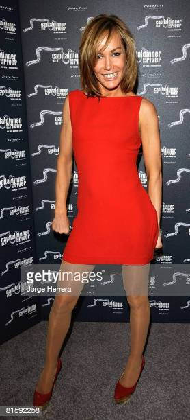 Tara PalmerTomkinson attends Capital's Dinner On The River on June 16 2008 in London England