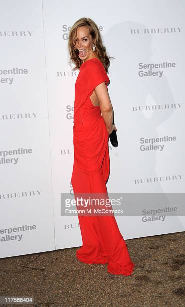 Tara PalmerTomkinson attends the Burberry Serpentine Summer Party at the Serpentine Gallery on June 28 2011 in London England