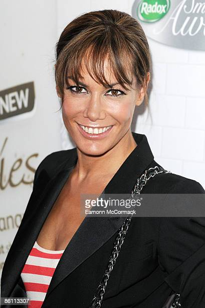 Tara PalmerTomkinson attends the first ever Radox Shower Smoothies Awards at Shoreditch House on April 21 2009 in London England