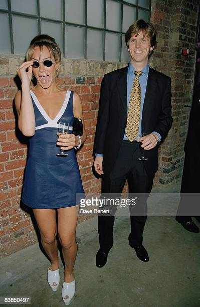 Tara PalmerTomkinson attends the opening of The Collection a new restaurant in Brompton Cross London 1st May 1996