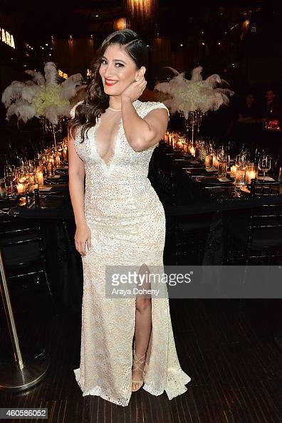 Tara Razavi attends the Bera Tarap private birthday dinner party at Beso on December 16 2014 in Hollywood California
