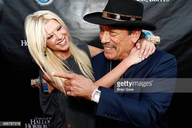 Tara Reid and Danny Trejo attending 'Halloween Horror Nights' With The Annual 'Eyegore Awards' Honoring Hollywood Horror Icons at Universal Studios...