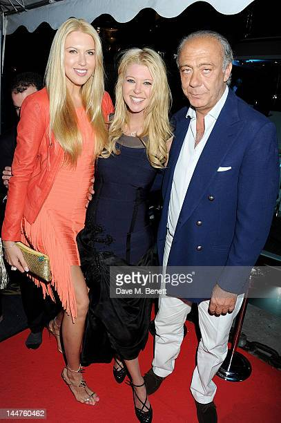 Tara Reid and Fawaz Gruosi attends as Eva Longoria and Denise Rich host their Cannes Cocktail Evening produced by Total Management and MandA Events...