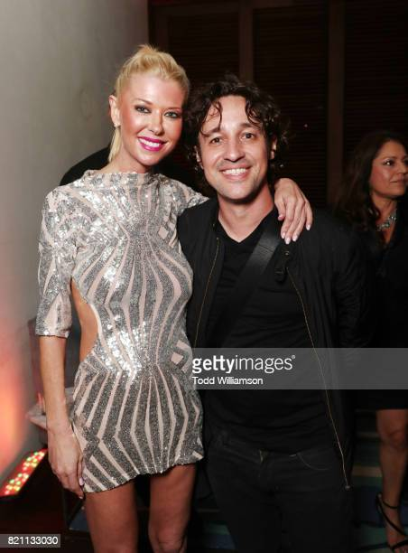 Tara Reid and Thomas Ian Nicholas at Entertainment Weekly's annual ComicCon party in celebration of ComicCon 2017 at Float at Hard Rock Hotel San...