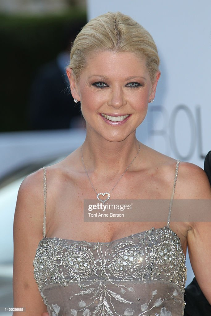 Tara Reid arrives at amfAR's Cinema Against AIDS at Hotel Du Cap on May 24, 2012 in Antibes, France.