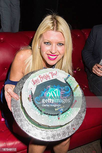 Tara Reid attends her birthday celebration at the Hard Rock Hotel San Diego on November 9 2013 in San Diego California