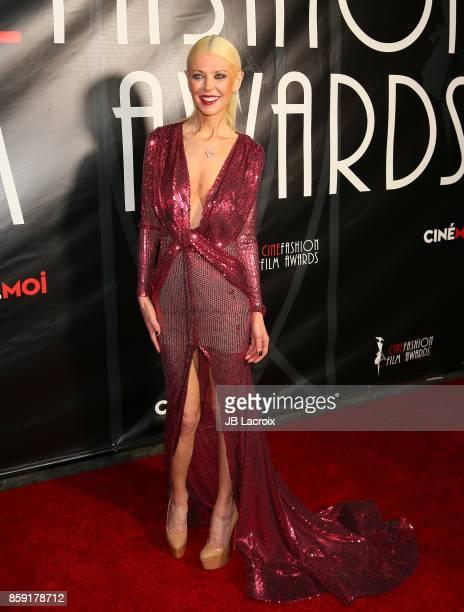 Tara Reid attends the 4th Annual CineFashion Film Awards on October 08 2017 in Los Angeles California