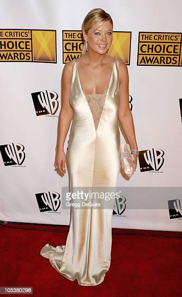 Tara Reid during 10th Annual Critics' Choice Awards Arrivals at Wiltern LG Theatre in Los Angeles California United States
