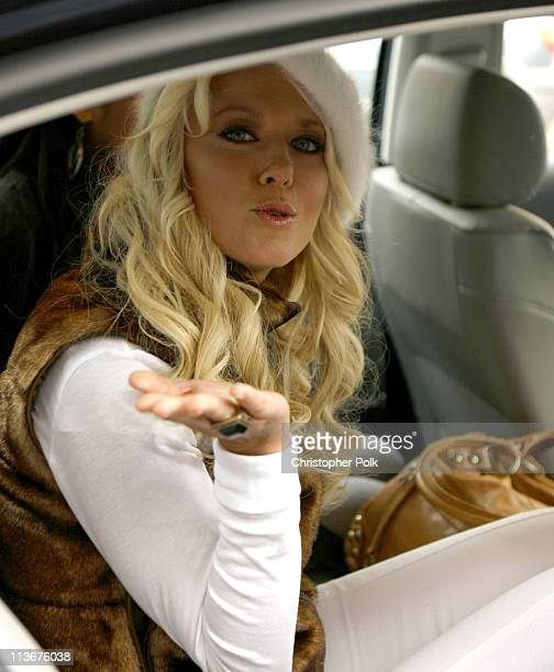 Tara Reid during 2007 Park City Seen Around Town Day 3 at Streets of Park City in Park City Utah United States