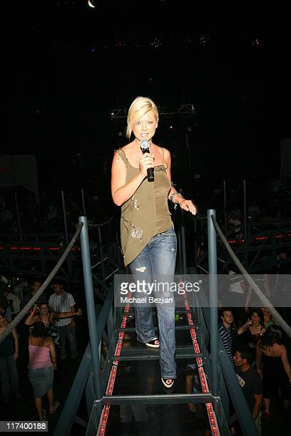 Tara Reid during Celebrity Night at VEX Harrah's Casino July 21 2006 at Harrah's Casino in Lake Tahoe Nevada United States