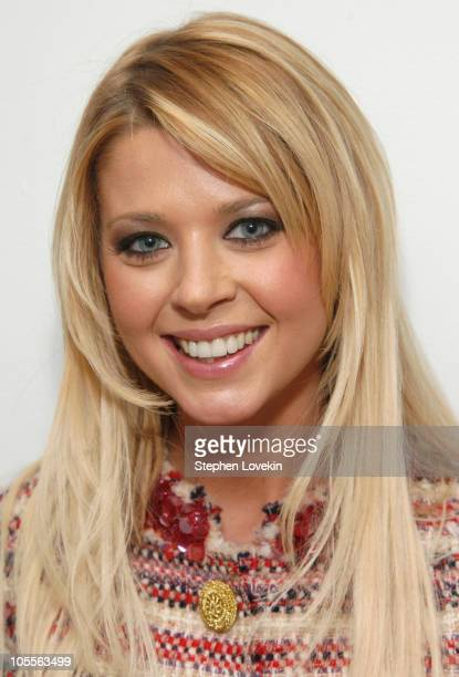 Tara Reid during Tara Reid Visits MTV's 'TRL' January 24 2005 at MTV Studios in New York City New York United States
